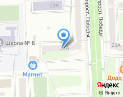 Компания Нотариусы Попова А.Е. и Попов А.В. на карте города