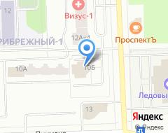 Компания НПФ УРАЛСИБ на карте города