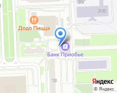 Компания Банкомат, КБ Приобье на карте города
