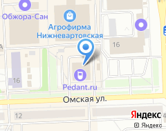 Компания PUNTO на карте города