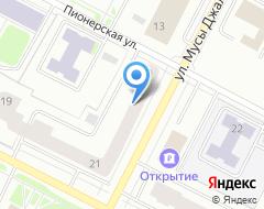 Компания Адвокат Кармацких Л.В. на карте города