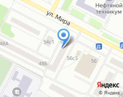 Компания БТИ г. Нижневартовска на карте города