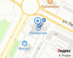 Компания O`stin на карте города