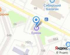 Компания Банкомат, Банк Ермак на карте города