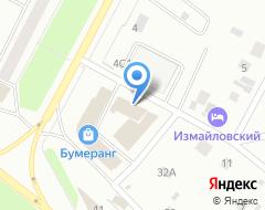 Компания Инари-М на карте города