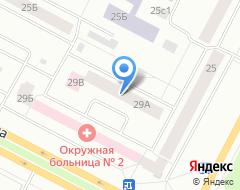 Компания Сибтранссервисиз на карте города