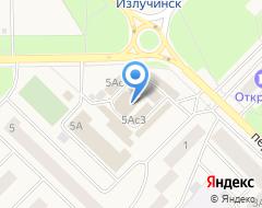 Компания Мегафон на карте города