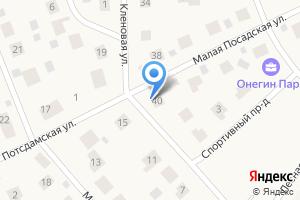 Компания «Строящийся коттеджный поселок по ул. Малая Посадская (Глинка)» на карте