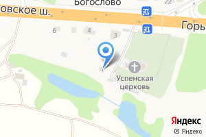 Компания «Багриново» на карте
