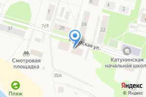 Компания «Строящийся жилой дом по ул. Советская ( Катунино)» на карте