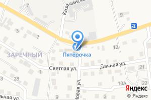 Компания «Продуктовый магазин на Новой» на карте
