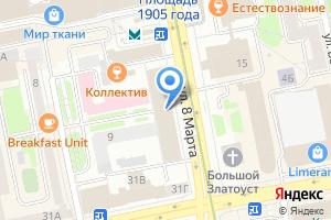 Компания «Банкомат Запсибкомбанк» на карте