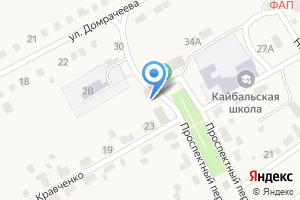 Компания «Магазин продуктов на Проспектном» на карте