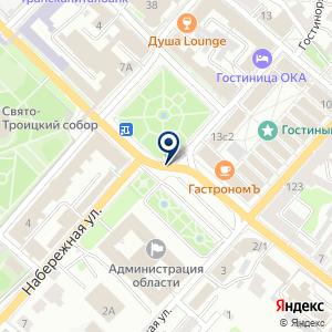 «Бизнес-сервис» на карте