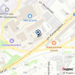 «Флагман» на карте