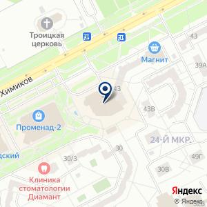 «Штора, салон-ателье» на карте