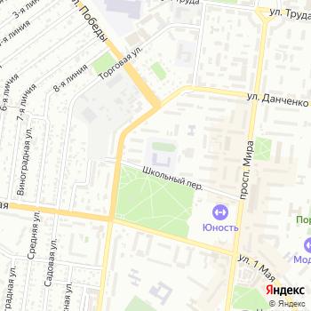 Общеобразовательная школа №1 на Яндекс.Картах