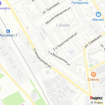 Почта с индексом 607221 на Яндекс.Картах