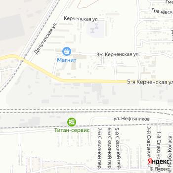 ТагАЗ на Яндекс.Картах