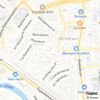 Астрахань на Яндекс.Картах