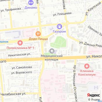 Астраханский базовый медицинский колледж на Яндекс.Картах
