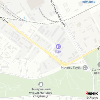 Специальный приемник для содержания лиц на Яндекс.Картах