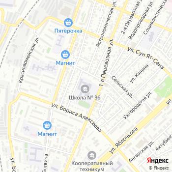 Средняя общеобразовательная школа №36 на Яндекс.Картах