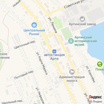 Почта с индексом 623340 на Яндекс.Картах