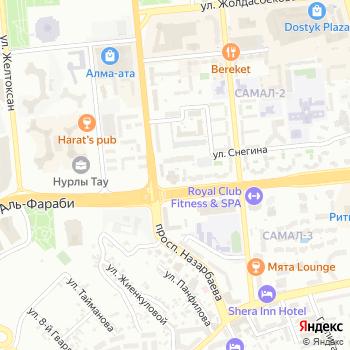 КазахКарго на Яндекс.Картах