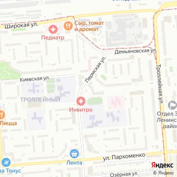 Фиолетико на Яндекс.Картах