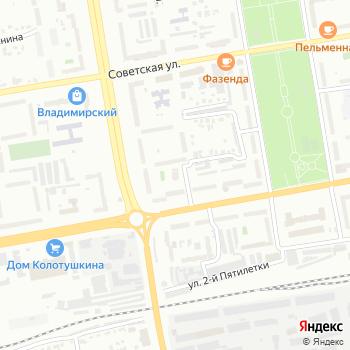 Ваше долголетие на Яндекс.Картах
