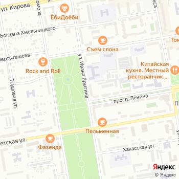 Нобеля на Яндекс.Картах