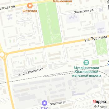 Дороги Сибири на Яндекс.Картах