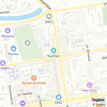 Орбита на Яндекс.Картах