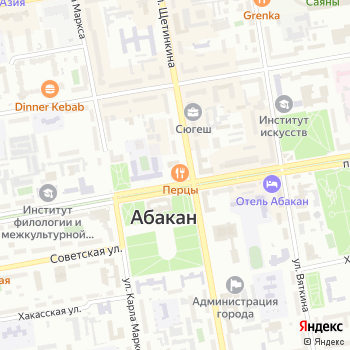 Центр проектирования и архитектуры на Яндекс.Картах