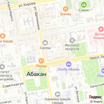 Управление Министерства юстиции РФ по Республике Хакасия на Яндекс.Картах