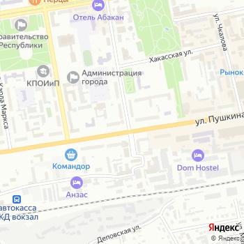 Юничел на Яндекс.Картах