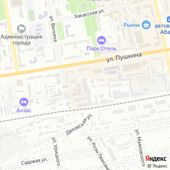ТайменьРека на Яндекс.Картах
