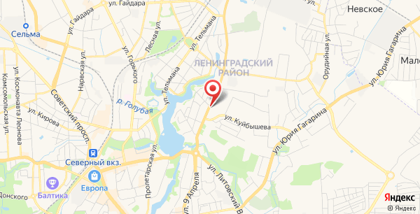калининград невского 36 в на карте