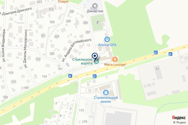«Meat Лав» на карте