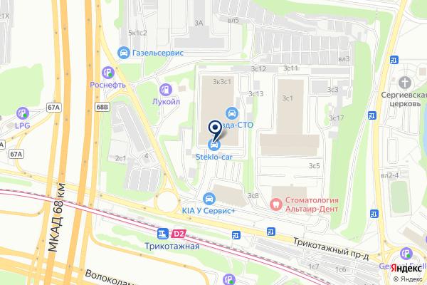 «Галогену нет» на карте