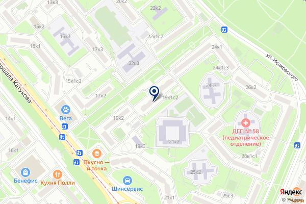 «Отдел по работе с населением Управления Департамента жилищной политики и жилищного фонда г. Москвы» на карте