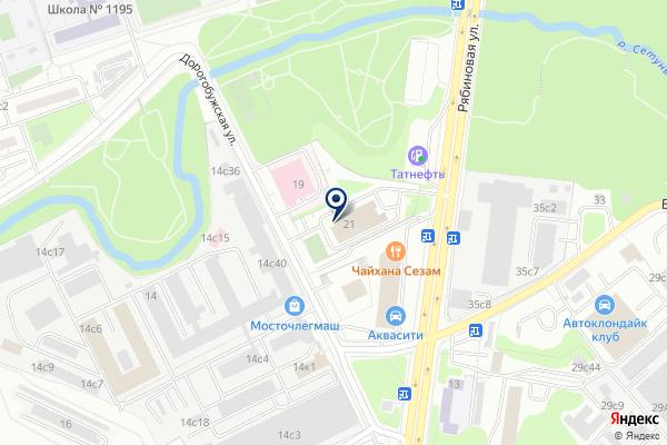 «Пожарная часть №4» на карте