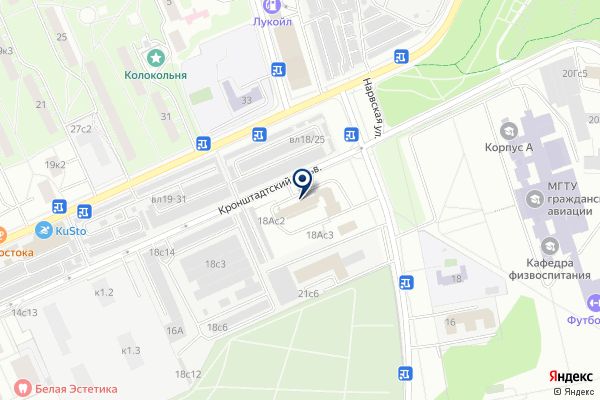 «Пожарная часть №31» на карте