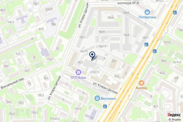 «Марк» на карте