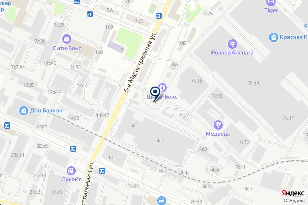 «АвтоПродис» на карте