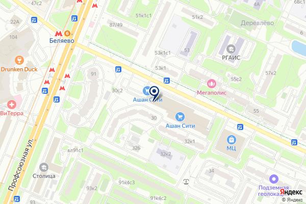 «TELE2» на карте