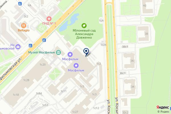 «ФТМ Энтертейменд» на карте