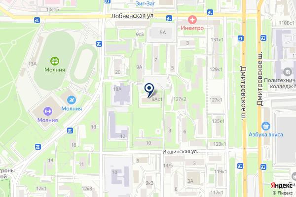 «Мировые судьи Дмитровского района» на карте