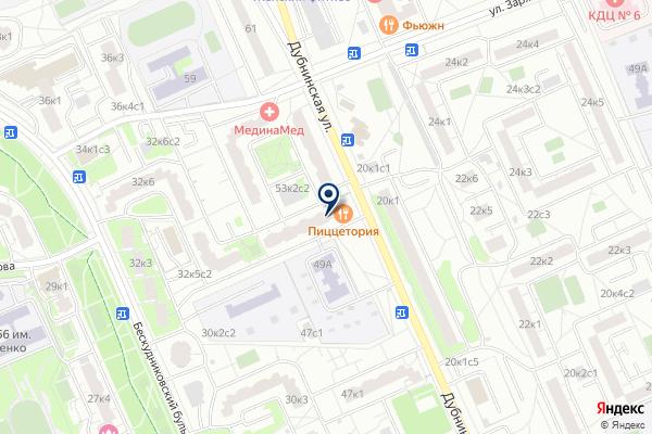 «Авангард» на карте